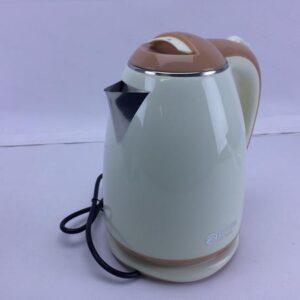 Электрический чайник с металлической колбой BITEK BT-3114 Бежевый