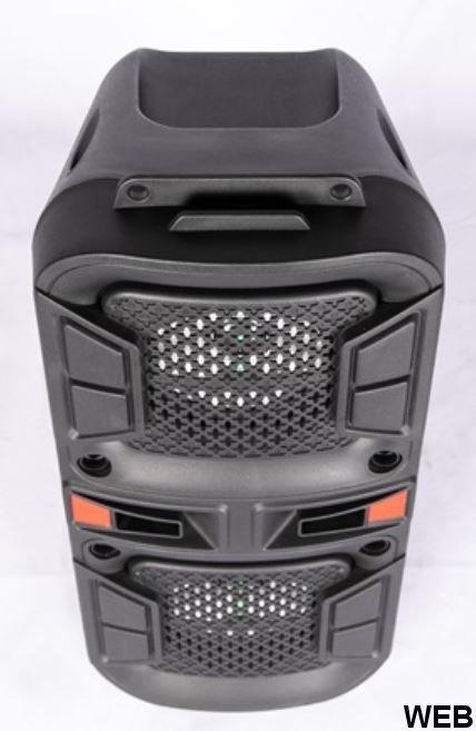 Портативная колонка Ailiang LiGE-A48 с подсветкой  Bluetooth/SD/USB/Radio