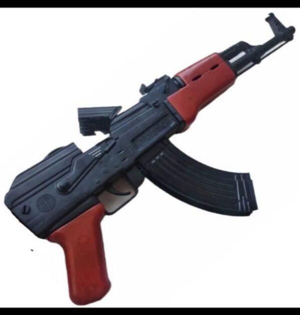 """Детский автомат Golden Gun """"АК-47"""" с пистонами и аксессуарами"""
