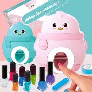 Детский набор для маникюра для девочек с принтером штампом для ногтей Nail Beauty ART-0404