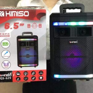 Портативная мощная колонка KIMISO QS-629 с пультом