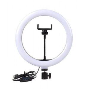 Кольцевая светодиодная LED лампа CXB-300 30 см с креплением для телефона
