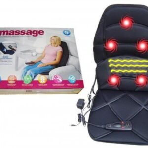 Массажная накидка на кресло Massage Seat Topper 5 вибрационная для дома и автомобиля