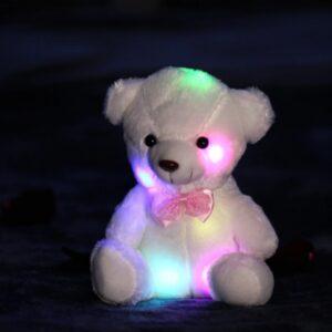 Плюшевый мягкий мишка, подарок игрушка мишка Белый