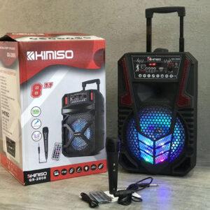 """Колонка портативная акустическая KIMISO QS-2808 BT (8""""BASS)"""
