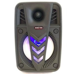 Колонка мини-чемодан USB, SD, FM, AUX, Bluetooth со светомузыкой ESS-105