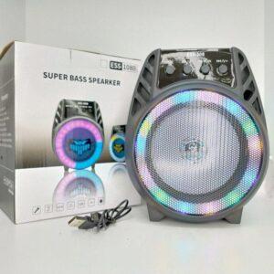 Колонка USB, SD, FM, AUX, Bluetooth со светомузыкой ESS-108