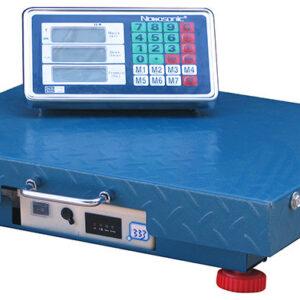 Беспроводные электронные торговые весы до 200 кг NK-200 WiFi Nokasonic, платформенные весы
