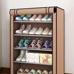 Тканевый шкаф для обуви В5 TV10027 (60х30х90 см)