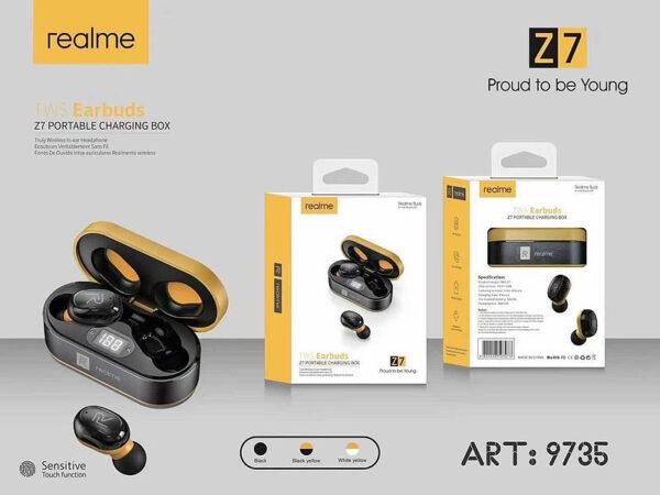 Беспроводные наушники Гарнитура Double с кейсом Realme Z7