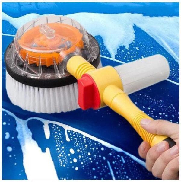 Вращающаяся щетка насадка для шланга Water Blast Cleaner Roto Brush