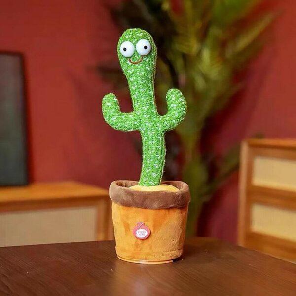 Танцующий кактус - музыкальная плюшевая говорящая игрушка