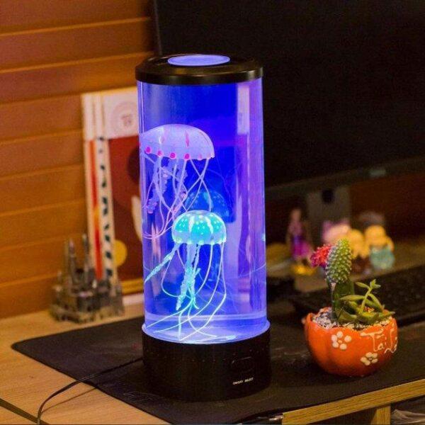 Лампа - ночник со светодиодными медузами LED Jellyfish Mood Lamp 7 режимов свечения