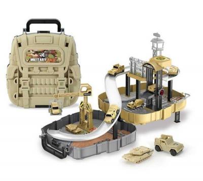 Детский игровой набор Военная база в рюкзаке Military Base Special Forces