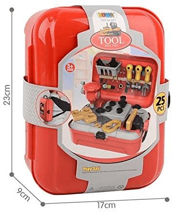 Детский игровой набор инструментов в рюкзаке Toy Tool Toy 25 предметов